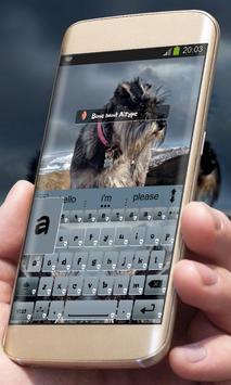 Bone hunt AiType Theme apk screenshot