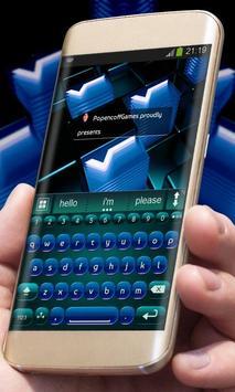 Digital Blue poster
