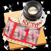 Pink Gun AiType Theme icon