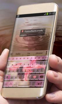 Pink Gun AiType Theme screenshot 4