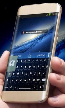 Stargaze AiType Theme apk screenshot