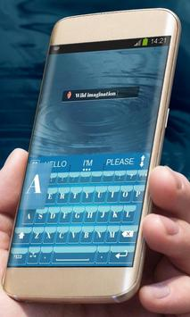 Simple Blue AiType Theme screenshot 2