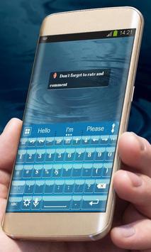 Simple Blue AiType Theme screenshot 3