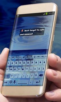 Sinking pebble AiType Theme apk screenshot