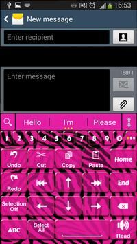 A. I. Type Pink Zebra א apk screenshot