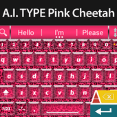 A. I. Type Pink Cheetah icon