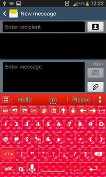 A.I.Type Red א apk screenshot