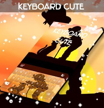 Cute Theme For Keyboard poster