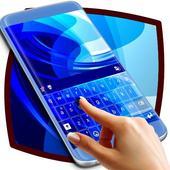 Blue Symphony Keyboard Theme icon