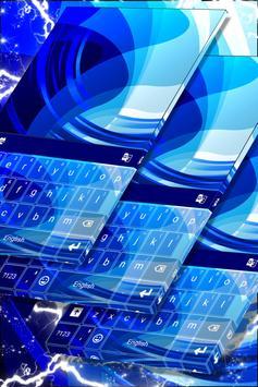 Blue Symphony Keyboard Theme poster