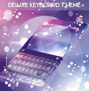 Deluxe Keyboard Theme poster