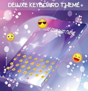 Deluxe Keyboard Theme apk screenshot