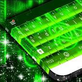 Electrify Green Keyboard Theme icon