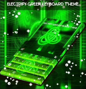 Electrify Green Keyboard Theme screenshot 3