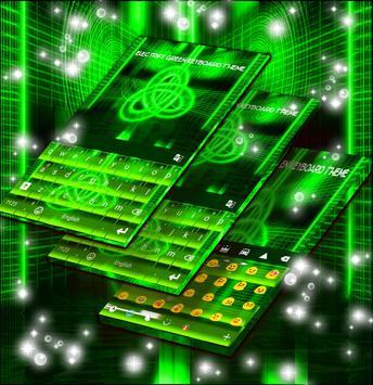 Electrify Green Keyboard Theme screenshot 2