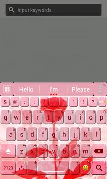 Rose Free Theme For Keyboard poster
