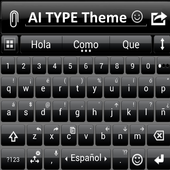 THEME FOR AI TYPE BLACK SENSE icon
