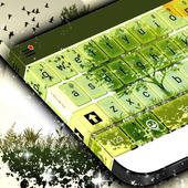 Green Spring Keyboard Theme icon