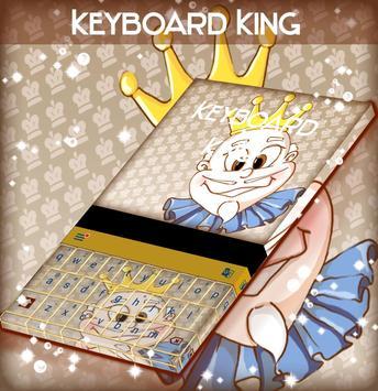 King Keyboard Theme apk screenshot