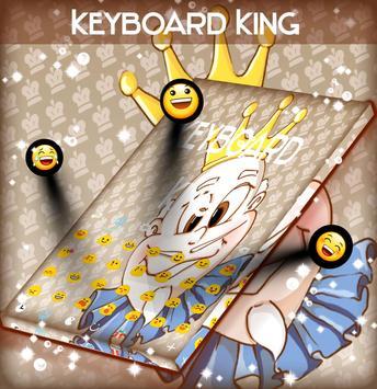 King Keyboard Theme screenshot 2