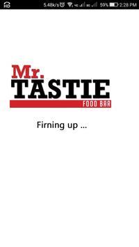 Mr Tastie poster
