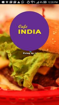Cafe India poster