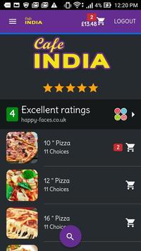 Cafe India screenshot 1