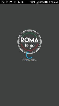 Roma to go poster