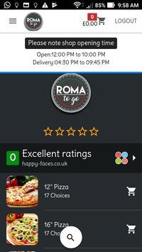 Roma to go apk screenshot