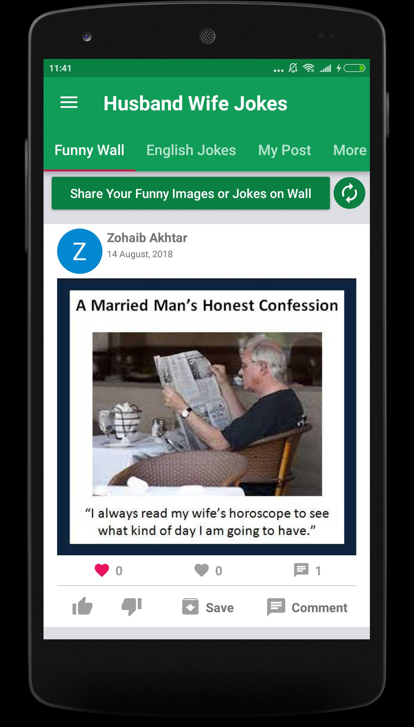 Husband Wife English Funny Jokes For Android Apk Download