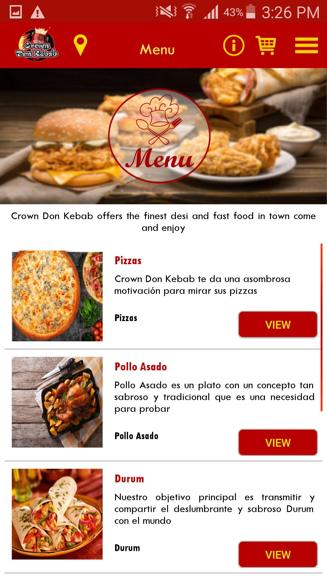 Crown Don Kebab for Android - APK Download