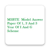 MSBTE Model Answer Paper Diploma icon