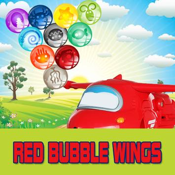 Red Bubble Wings poster