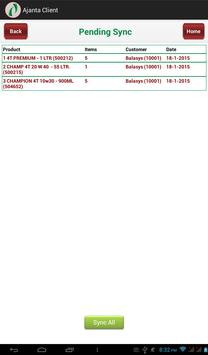 Ajanta Client screenshot 7