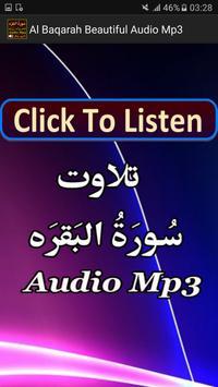 Al Baqarah Beautiful Audio Mp3 poster