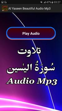 Al Yaseen Beautiful Audio Mp3 apk screenshot