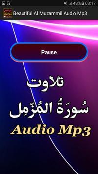 Beautiful Al Muzammil Audio screenshot 2