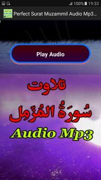 Perfect Surat Muzammil Mp3 App apk screenshot