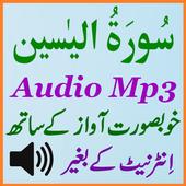 Surat Yaseen Listen Audio Mp3 icon