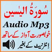 Sura Yaseen Listen Mp3 Audio icon