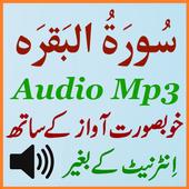 Surah Baqarah Full Audio Mp3 icon