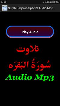 Surah Baqarah Special Audio screenshot 1