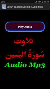 Surah Yaseen Special Audio Mp3 screenshot 1