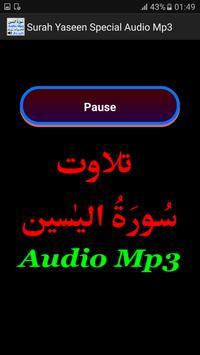 Surah Yaseen Special Audio Mp3 screenshot 2