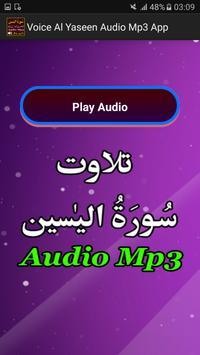 Voice Al Yaseen Audio Mp3 App apk screenshot