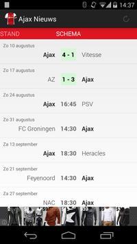 Ajax Nieuws screenshot 2