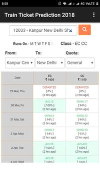 Train Ticket Prediction 2018 poster