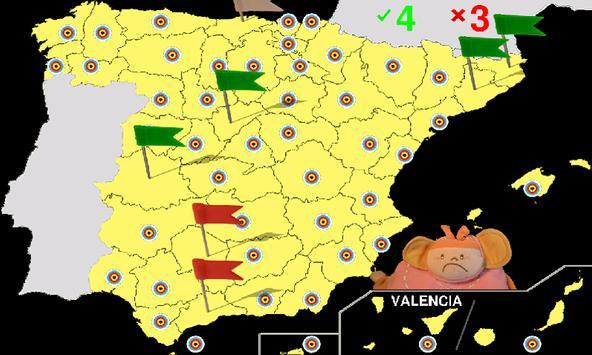 Spanish geography screenshot 3