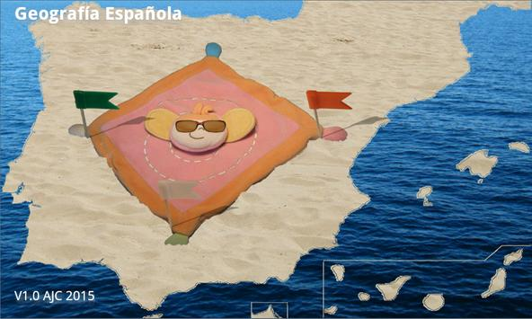 Spanish geography poster
