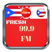 Fresh 99.9 radio de puerto rico Radio Fresh Online icon